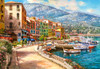 The French Riviera - 1500pc Jigsaw Puzzle By Castorland