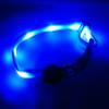 "Glow in the Dark LED Dog Collar, 13"" - 20"" length, 1"" width, Blue"