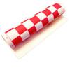 """Standard Vinyl Roll-Up Tournament Chess Mat, 20"""" x 20"""" - Red"""