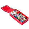 nGenius Under-The-Bed Christmas Holiday Ornament Storage Box for 21 Ornaments