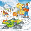 Let's Go Skiing! - 3x49pc Jigsaw Puzzle By Ravensburger