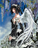 Angel and Flowers - 1000pc Jigsaw Puzzle By Sunsout