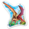 Window Puzzle: Pterodactyl - 60pc Double-Sided Jigsaw Puzzle by Clementoni