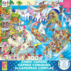 Comic Capers: The Wave - 300pc Large Format Jigsaw Puzzle by Ceaco