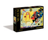"""Kandinsky """"Yellow-Red-Blue""""- Museum - 1000pc Jigsaw Puzzle by Clementoni (discon)"""