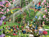 Gnomes Playground - 300pc Large Format Jigsaw Puzzle By Sunsout