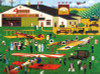 Charles Wysocki: Four Aces Flying School - 1000pc Jigsaw Puzzle by Buffalo Games