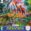 Prehistoria: Sauropod Dino Waterhole - 300pc Oversized Jigsaw Puzzle by Ceaco