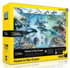 Home in the Ocean - 1500pc Jigsaw Puzzle by New York Puzzle Company