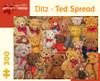 Ditz: Ted Spread - 300pc Jigsaw Puzzle by Pomegranate
