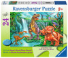 Dino Falls - 24pc Floor Jigsaw Puzzle By Ravensburger