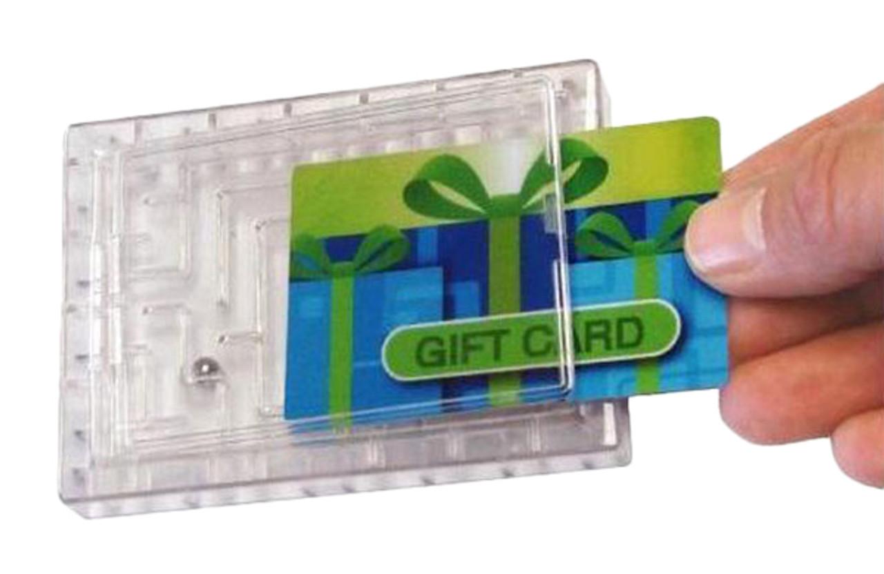 Gift Card Money Maze Money Puzzle
