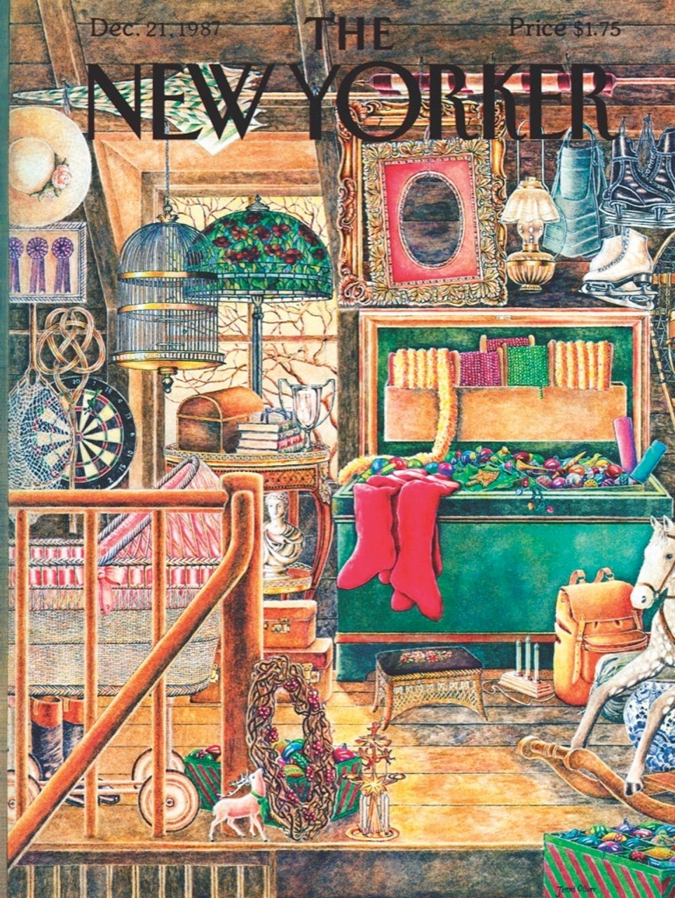 Christmas Attic.Christmas Attic 1000pc Jigsaw Puzzle By New York Puzzle Company