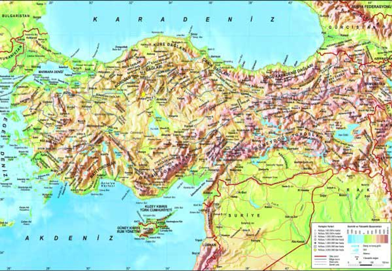 Picture of: Turkey Topographical Map 260pc Jigsaw Puzzle By Anatolian Discon 15755 Seriousshops Com