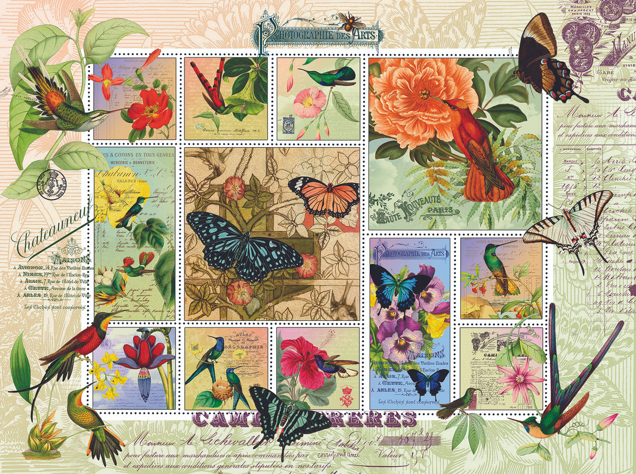 By Hummingbird Puzzle Sunsout And Flight Jigsaw Butterfly 1000pc HeW2YED9I