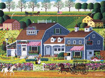 Amish Quilts 500 Piece Dowdle Folk Art 00057 Dowdle Jigsaw Puzzle