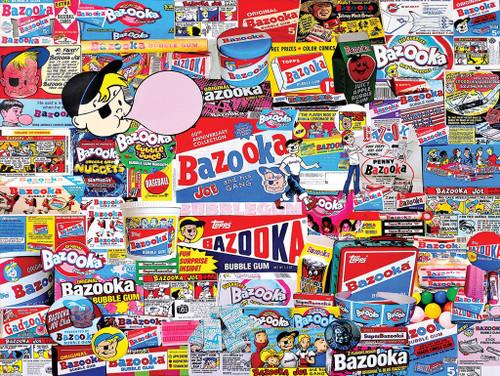 Bazooka - 1000pc Jigsaw Puzzle By White Mountain