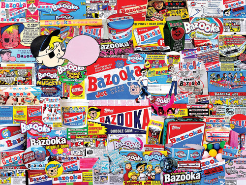 Bazooka - 1000pc Jigsaw Puzzle By White Mountain
