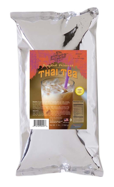 MoCafe - Thai Tea - Premium Tea Latte - 3 lb. Bulk Bag