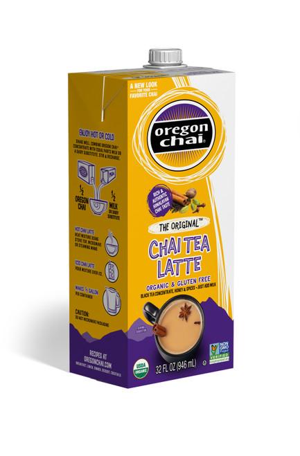 Oregon Organic Chai Tea: The Original - 32 oz. Carton
