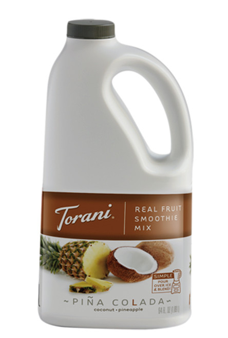 Torani Real Fruit Smoothies - 64oz Jug: Pina Colada