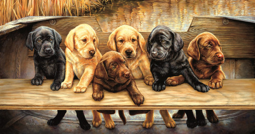 All Hands on Deck - 500pc Jigsaw Puzzle By Sunsout