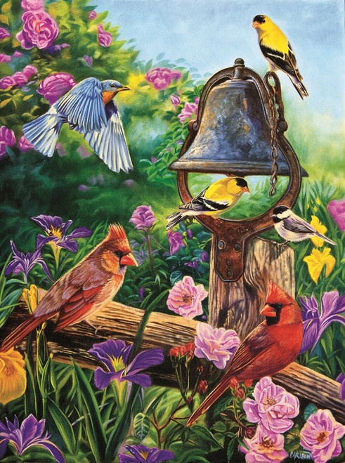 Garden Melodies - 1000pc Jigsaw Puzzle By Sunsout