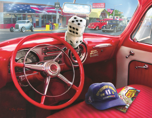 American Car - 1000+pc Jigsaw Puzzle By Sunsout