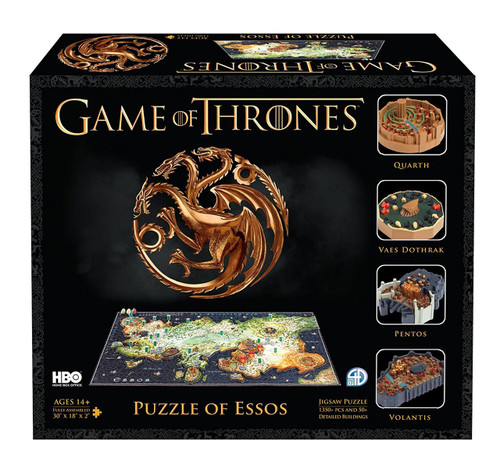 4D Game of Thrones : Esso - 1400pc 4D Cityscape Jigsaw Puzzle