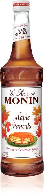 Monin Classic Flavored Syrups - 750 ml. Glass Bottle: Maple Pancake