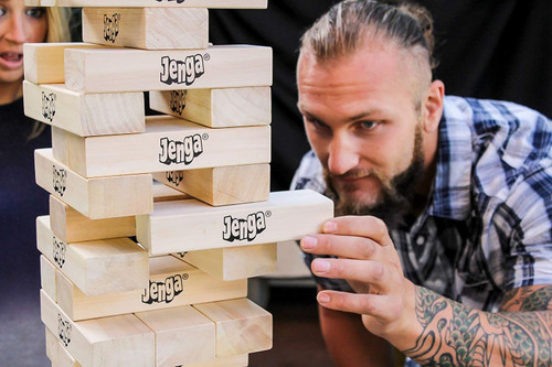 Jenga Giant - Genuine Hardwood Pary Game