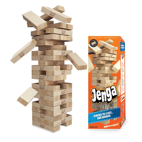 Jenga Giant - Genuine Hardwood Game
