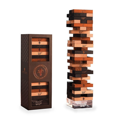 Jenga Pemium Hardwood - Stacking Game