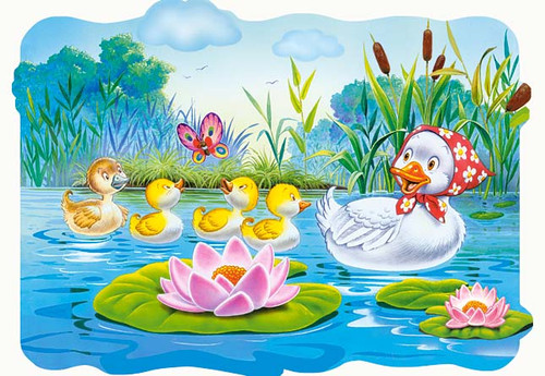 The Ugly Duckling - 20pc Jigsaw Puzzle by Castorland