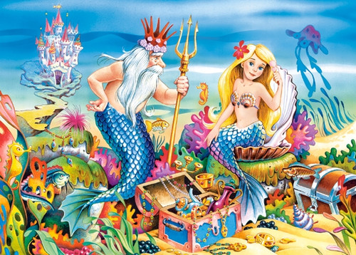 Little Mermaid - 35pc Jigsaw Puzzle by Castorland