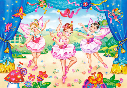 Little Ballerinas - 40pc Jigsaw Puzzle by Castorland