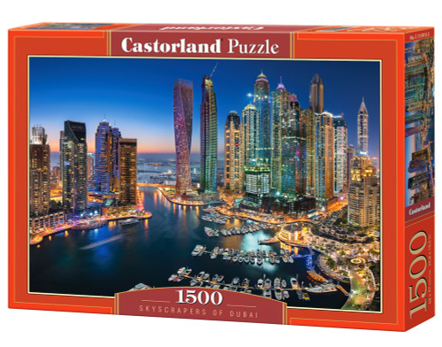 Skyscrapers of Dubai - 1500pc Jigsaw Puzzle By Castorland