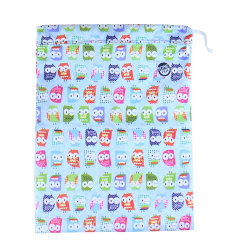 Diaper Wet Bag - Owls