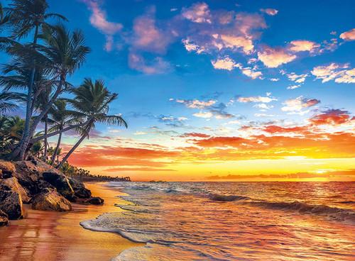 Paradise Beach - 500pc Jigsaw Puzzle by Clementoni