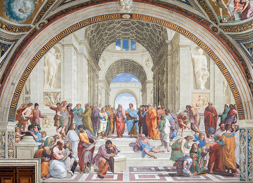 Raphael: School of Athens - 1000pc Jigsaw Puzzle by Clementoni
