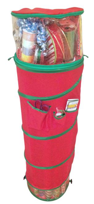 Hanging Pop Open Gift Wrap Storage Organizer by nGenius