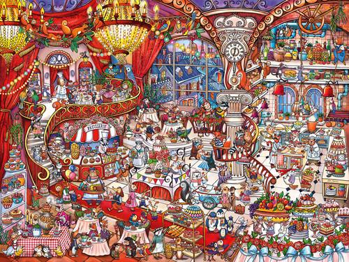 Berman: Patisserie - 1500pc Jigsaw Puzzle By Heye