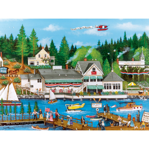 Homegrown: Roche Harbor - 750pc Jigsaw Puzzle by Masterpieces