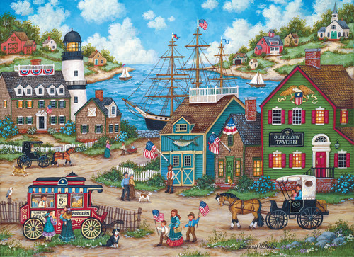 Hometown Gallery: The Young Patriots - 1000pc Jigsaw Puzzle by Masterpieces