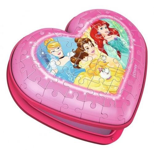 Heart Case Disney Princess - 54pc 3D Puzzle By Ravensburger
