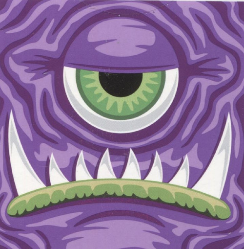 Purple Cyclops Monster - 100pc Jigsaw Puzzle by Re-marks