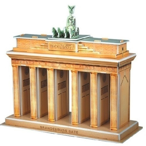 The Brandenburg Gate - 31pc 3D Puzzle by CubicFun