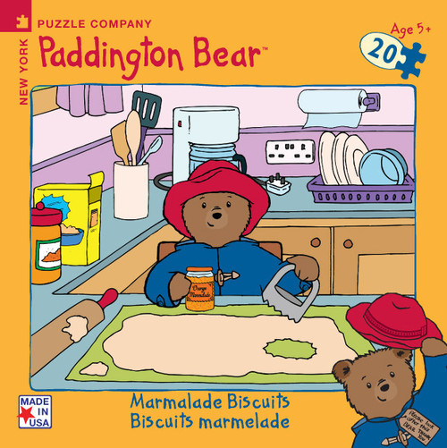 Paddington Bear: Marmalade Biscuits - 20pc Mini Puzzle by New York Puzzle Company