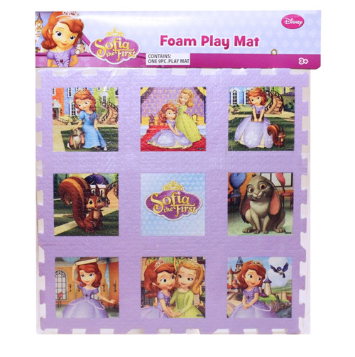 Disney: Sofia the First - 9pc Foam Floor Puzzle by What Kids Want