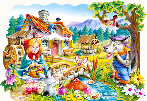 Little Red Riding Hood - 20pc Jigsaw Puzzle by Castorland